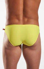 Cocksox - CX04 Drawstring Swim Brief - Reef Gold-Swimwear-Johnny Beach