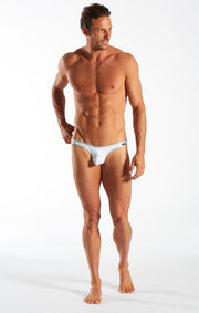 Cocksox - Brief - Silver Shimmer Johnny Beach
