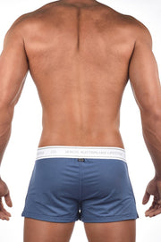 2EROS - Core Boxer Shorts - Navy Marle Johnny Beach