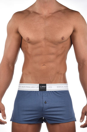 2EROS - Core Boxer Shorts - Navy Marle, Underwear, 2eros - Johnny Beach