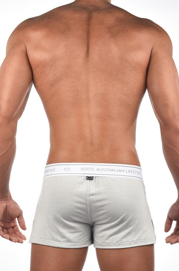 2EROS - Core Boxer Shorts - Ivory Johnny Beach