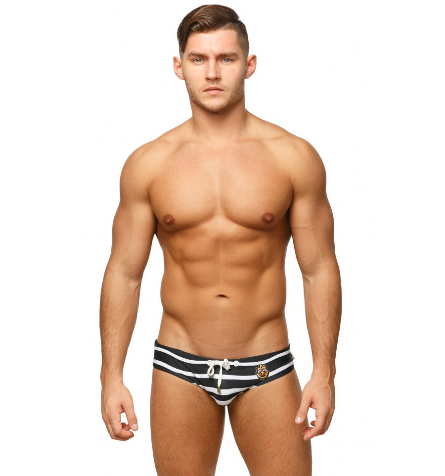 Marcuse - Cruise Swim Brief - Black