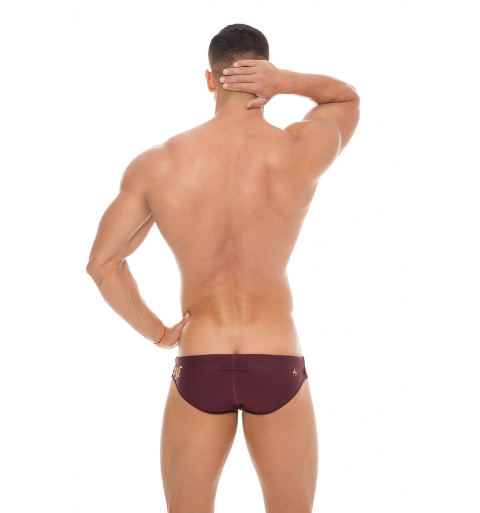 Marcuse - Envy Swim Brief - Burgundy, Swimwear, Marcuse - Johnny Beach