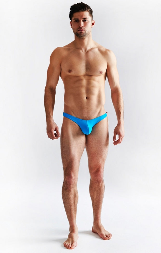 Cocksox - Swim Brief - Marlin Blue Johnny Beach