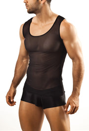 Joe Snyder - Tank Top - Black Mesh Johnny Beach