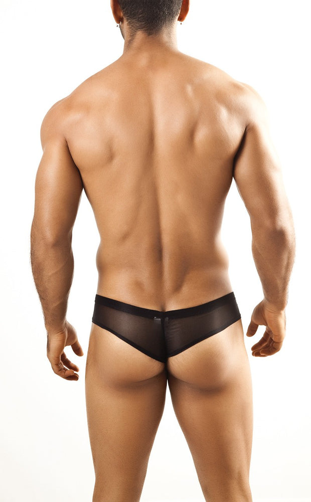 Joe Snyder - Mini Cheek - Black Mesh-Underwear-Johnny Beach