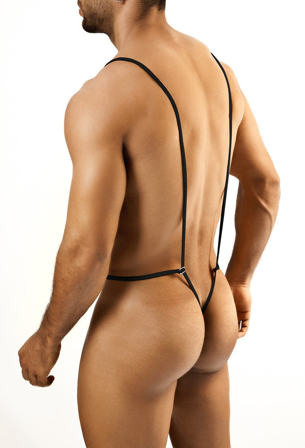 Joe Snyder - Body Thong - Black-Underwear-Johnny Beach