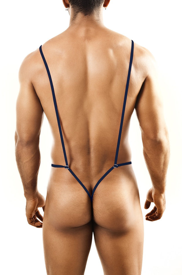 Joe Snyder - Body Thong - Navy Johnny Beach