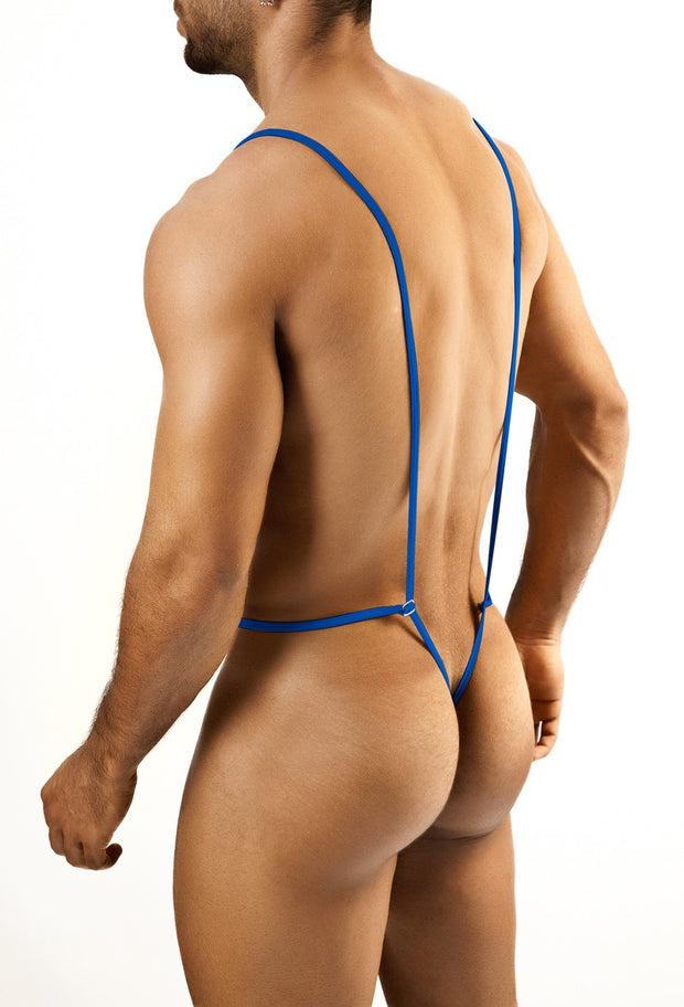 Joe Snyder - Body Thong - Royal Blue Johnny Beach