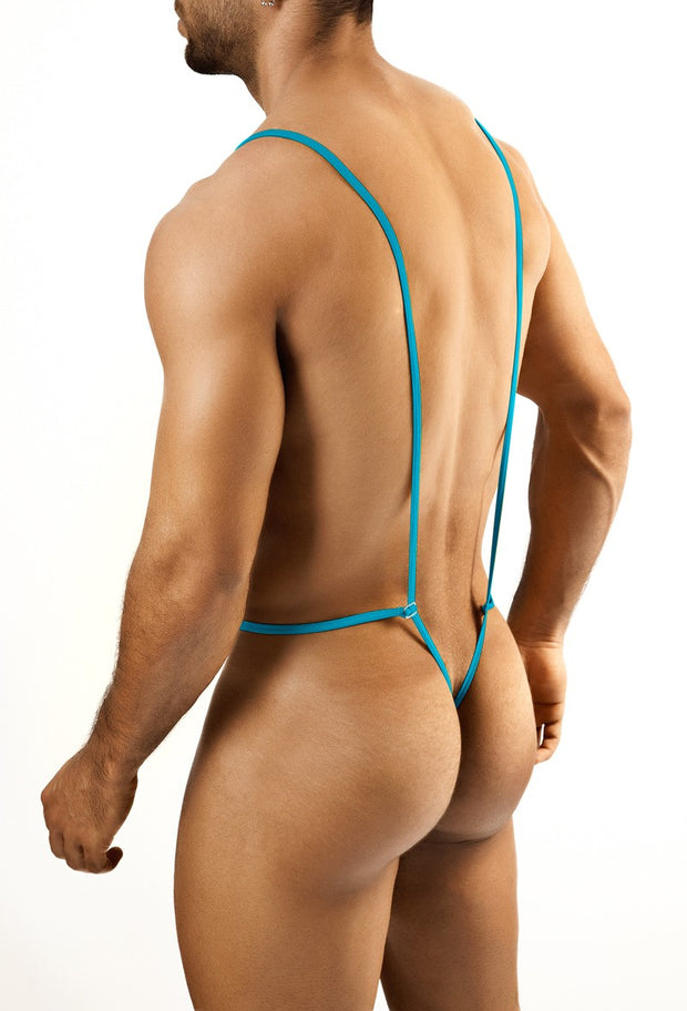 Joe Snyder - Body Thong - Turquoise Johnny Beach