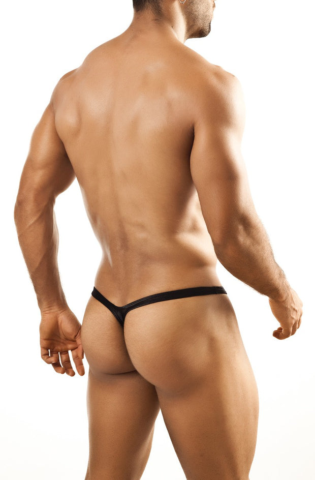 Joe Snyder - Bulge Thong - Black Pearl Johnny Beach