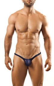 Joe Snyder - Bulge Thong - Navy-Underwear-Johnny Beach