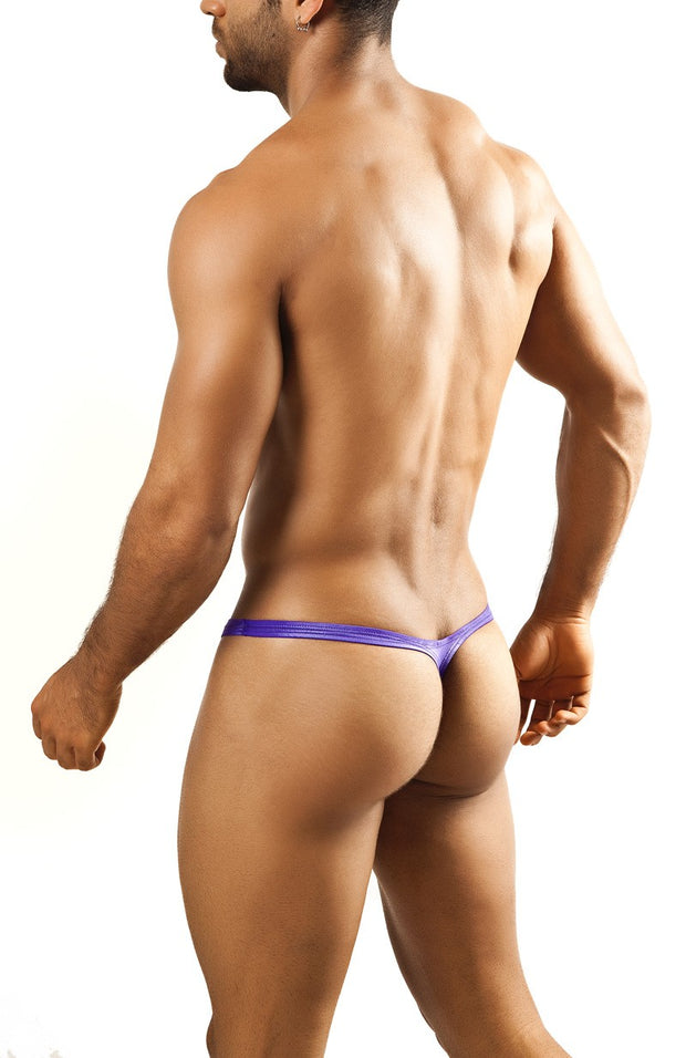 Joe Snyder - Bulge Thong - Violet-Underwear-Johnny Beach