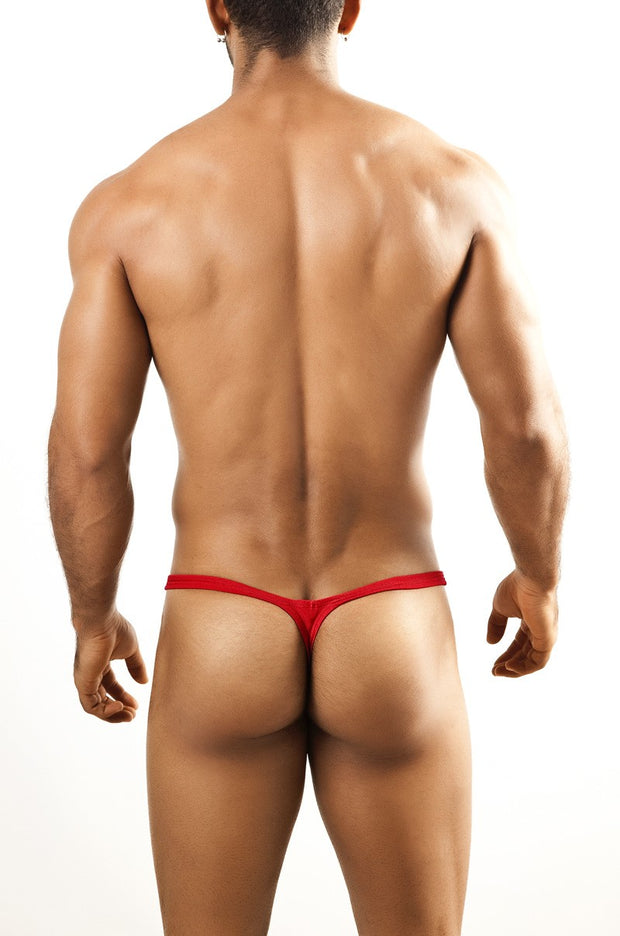 Joe Snyder - Bulge Thong - Red-Underwear-Johnny Beach