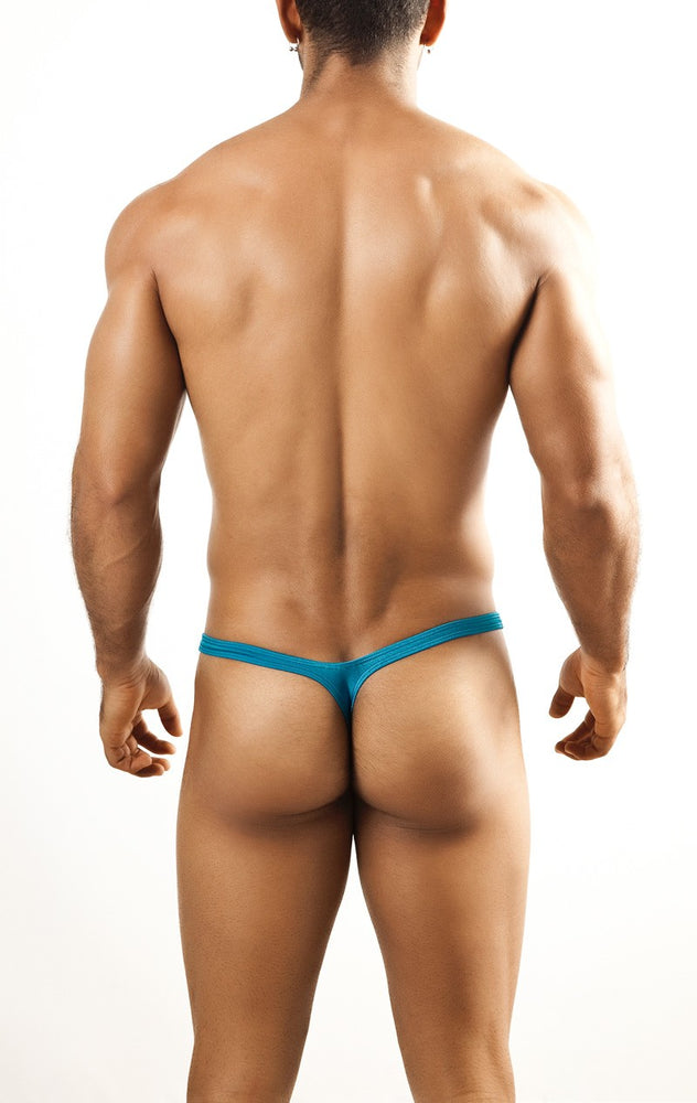 Joe Snyder - Bulge Thong - Turquoise, Underwear, Joe Snyder - Johnny Beach