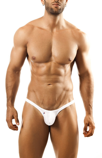 Joe Snyder - Bulge Thong - White-Underwear-Johnny Beach