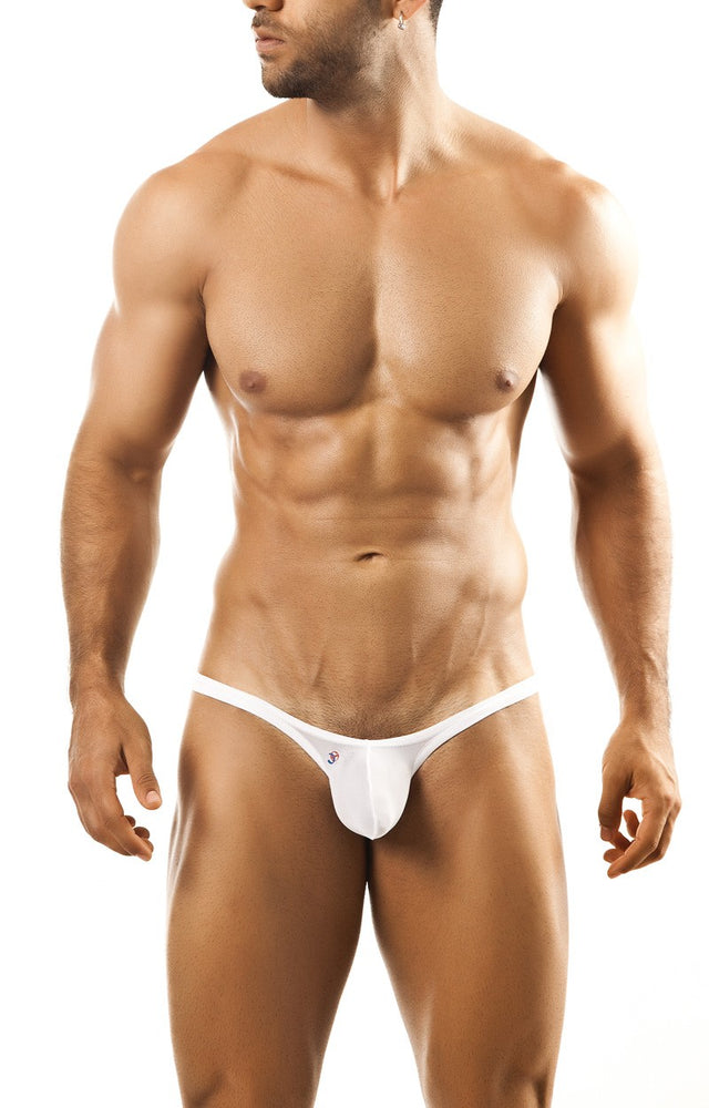 Joe Snyder - Bulge Thong - White Mesh