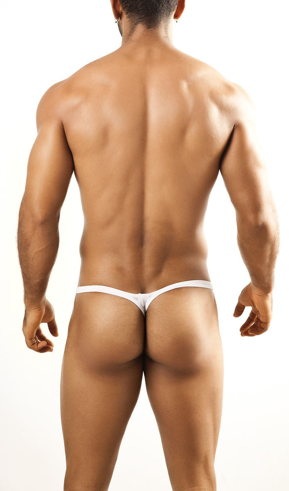 Joe Snyder - Bulge Thong - White Mesh, Underwear, Joe Snyder - Johnny Beach