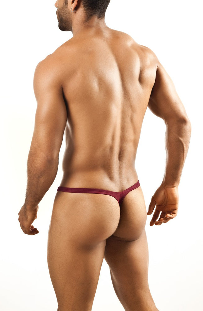 Joe Snyder - Bulge Thong - Wine, Underwear, Joe Snyder - Johnny Beach