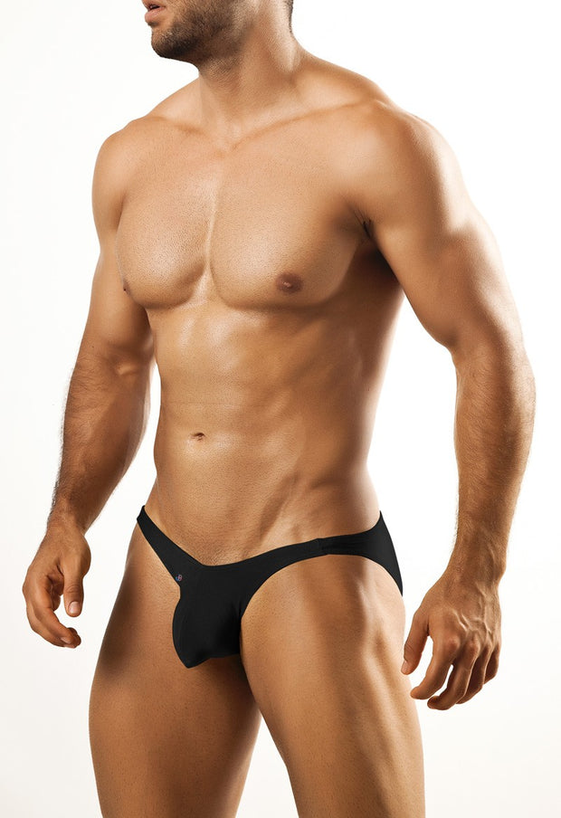 Joe Snyder - Full Bulge Bikini - Black Johnny Beach