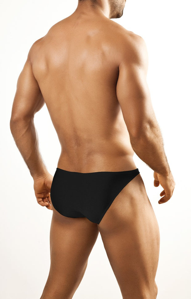 Joe Snyder - Full Bulge Bikini - Black-Underwear-Johnny Beach