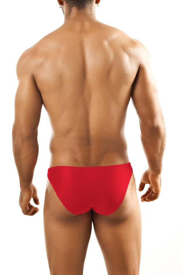 Joe Snyder - Full Bulge Bikini - Red-Underwear-Johnny Beach