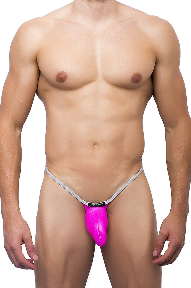 Joe Snyder - G-String Sock It - Pink-Underwear-Johnny Beach