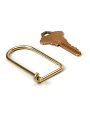 Craighill - Wilson Keyring - Brass Johnny Beach