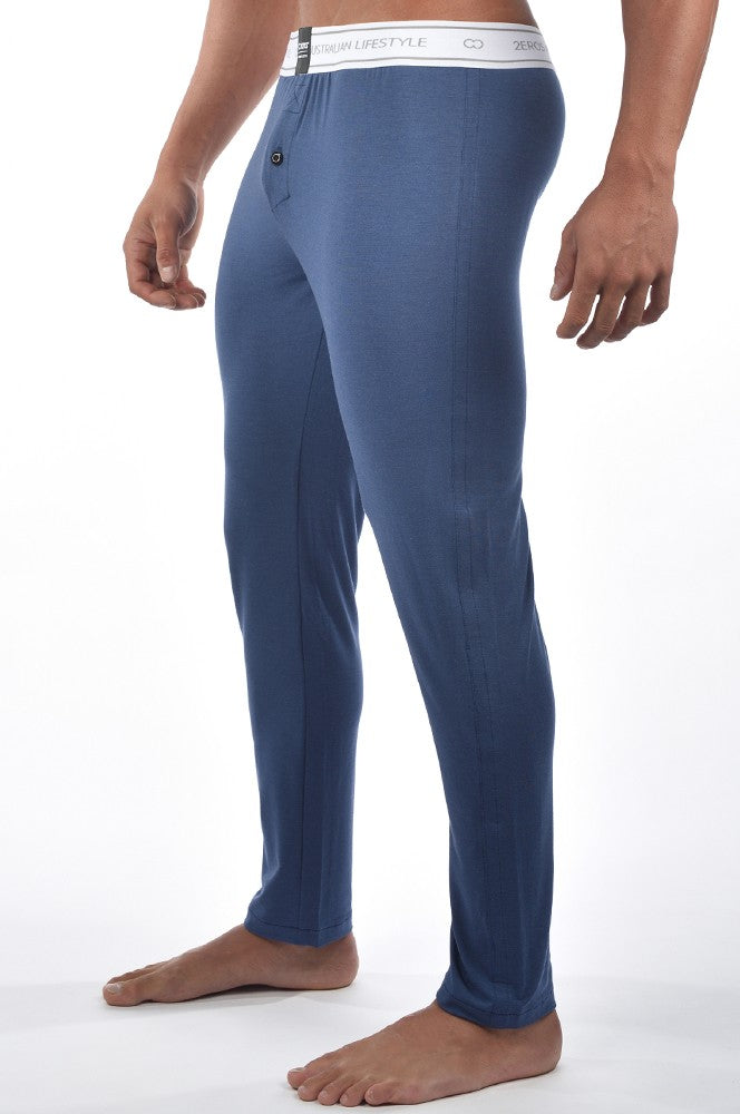 2EROS - Core Lounge Pants - Navy Marle, pants, 2eros - Johnny Beach