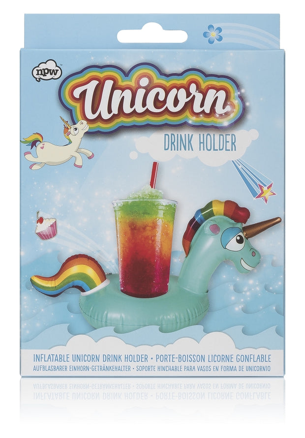 NPW - Unicorn Inflatable Drinks Holder Johnny Beach