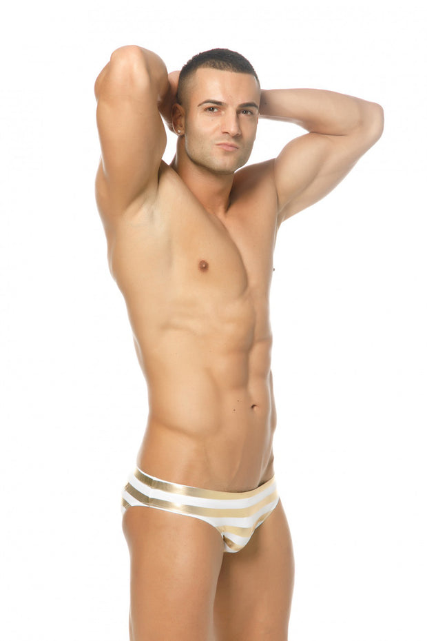 Marcuse Pride Swimwear White-Swimwear-Johnny Beach