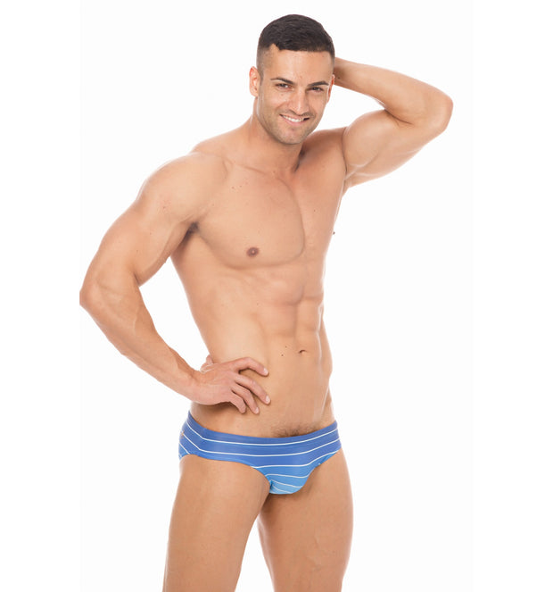 Marcuse - Radiant Swim Brief - Blue Johnny Beach