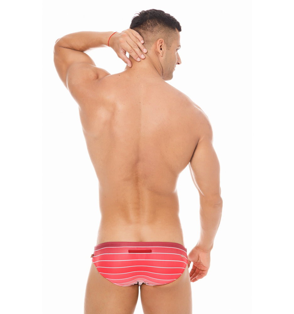Marcuse - Radiant Swim Brief - Red, Swimwear, Marcuse - Johnny Beach