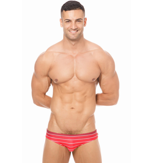 Marcuse - Radiant Swim Brief - Red-Swimwear-Johnny Beach