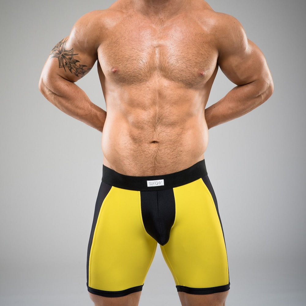 Sukrew - Full Sprint - Yellow & Black - Jake
