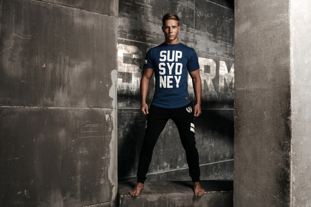 Supawear - SUP T-Shirt - Speckled Navy-t-shirts-Johnny Beach