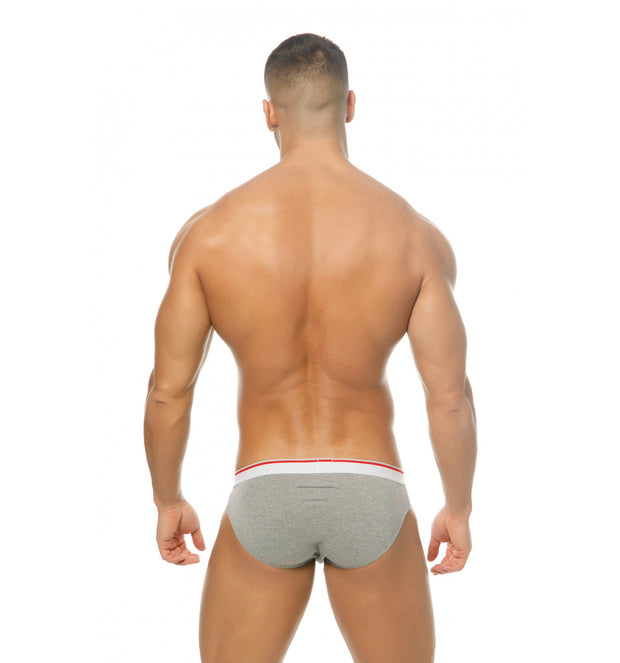 Marcuse Urban Brief Underwear Grey-Underwear-Johnny Beach