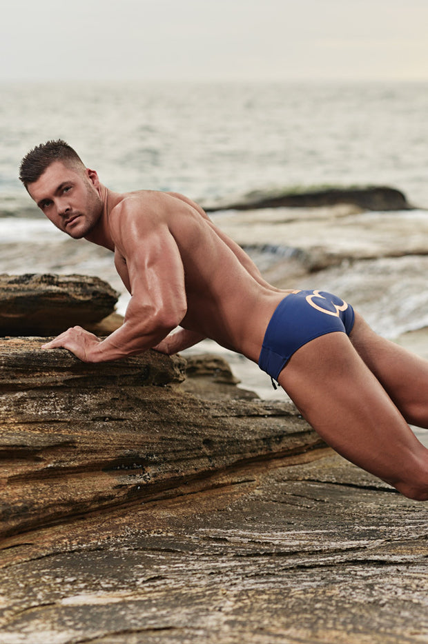 2EROS - Icon Swimwear - Navy Johnny Beach
