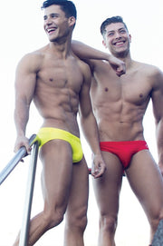 2eros - V10 Core Swimwear - Yellow Johnny Beach