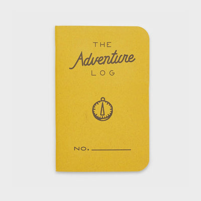 Word. Notebooks - The Adventure Log - Yellow-notebook-Johnny Beach