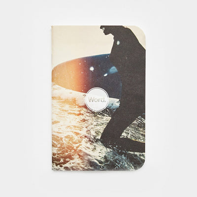 Word. Notebooks - Surf-notebook-Johnny Beach