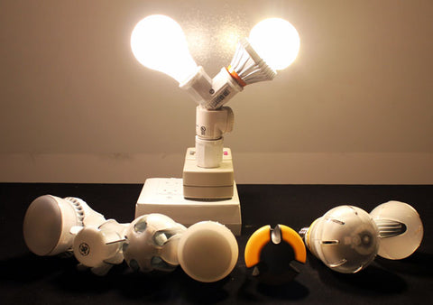 Switch60 Led Light Bulb Review And Comparison To Insignia Led Light
