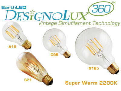 LED Vintage & Antique Style Bulbs Now Available at EarthLED