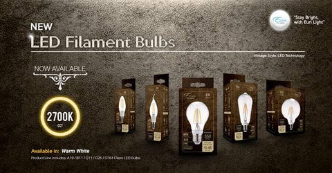 LED Vintage Filament Bulbs