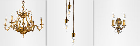 Euri Vintage Candelabra LED Light Bulb Applications
