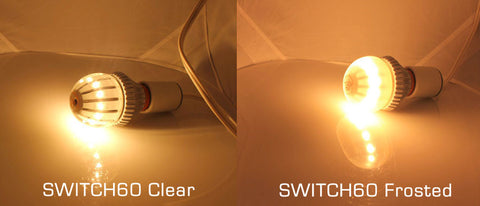 SWITCH60 Frosted and SWITCH75 Frosted now available
