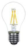 Kodak Vintage Filament LED A19 Bulb - 4 Watts - 40 Watt Equal - Dimmable