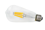 Kodak Vintage Filament LED ST64 S21 Filament Bulb - 6 Watt - 60 Watt Equal - Dimmable