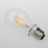Thinklux Filament LED A19 Light Bulb - 4 Watt - 40 Watt Equal - Dimmable - 6 Pack
