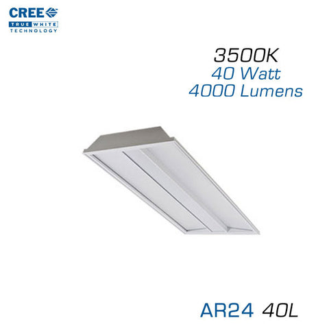 CREE AR24-40L-35K 2x4 Architectural LED Troffer